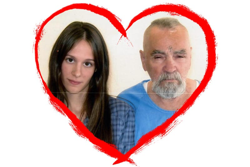 Illustration for article titled Lessons on Love and Marriage From Charles Manson and His Fiancée