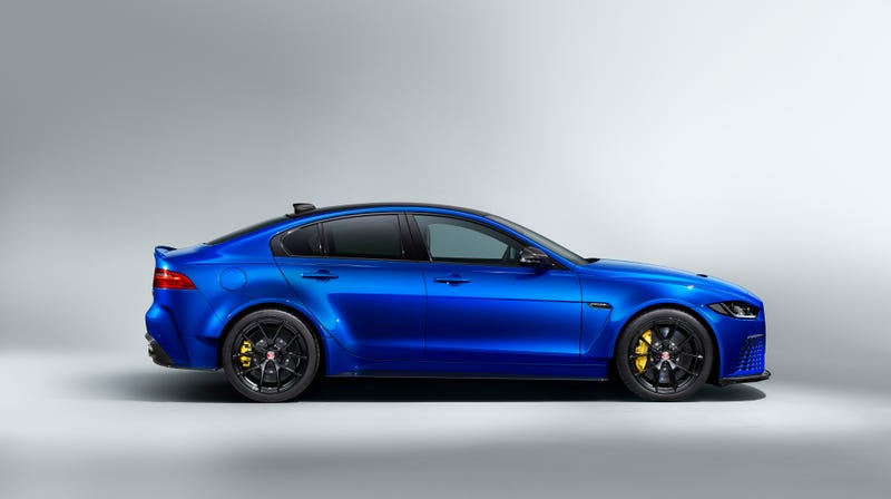 Now You Can Get Jaguar's Most Exuberant Car Without The Vulgar Wing