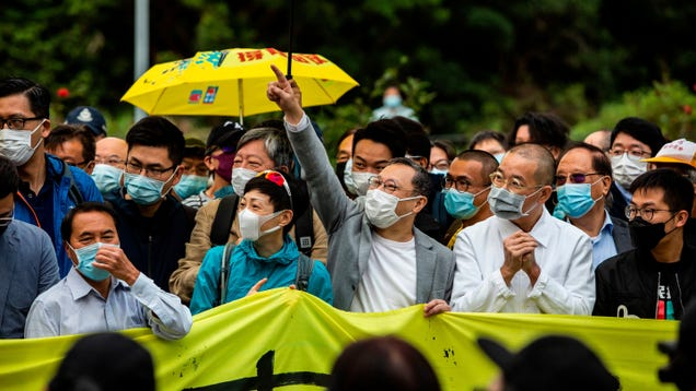 Hong Kong Court Upholds Part of Mask Ban Intended to Suppress Protests Despite Coronavirus