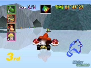 Illustration for article titled Mario Kart 64 Characters and Race Tracks, Re-Ranked