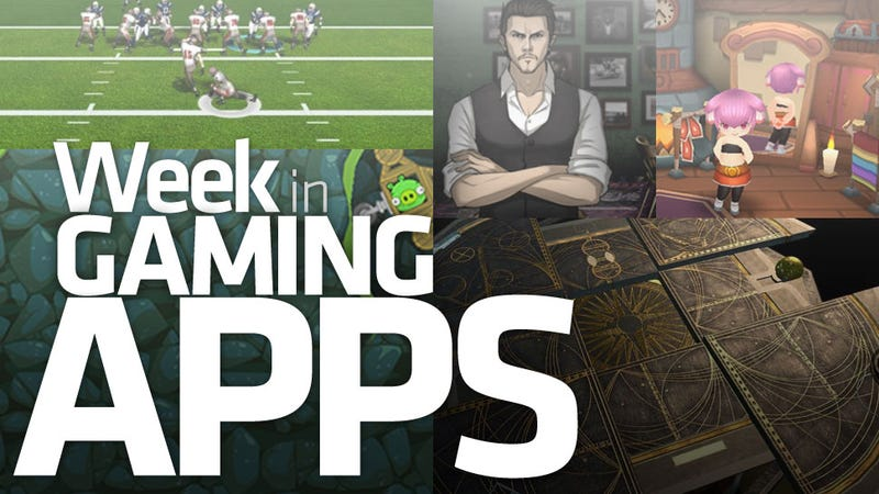 Illustration for article titled Four Splendid Gaming Apps... and NFL Pro 2013