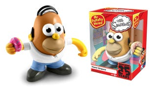 Illustration for article titled Mr. Potato Head Homer: Let's Play D'oh