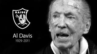 Illustration for article titled S̶t̶e̶v̶e̶ ̶J̶o̶b̶s̶ Al Davis Is Dead (UPDATE)