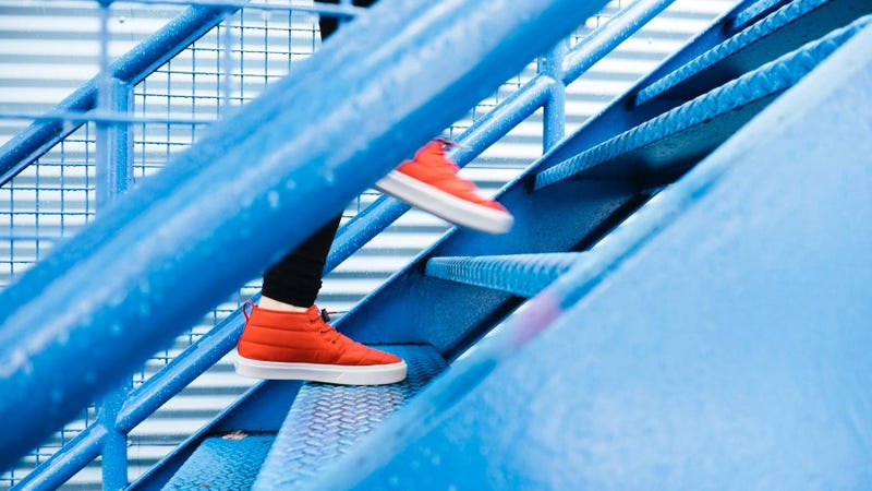 Illustration for article titled This Month's Fitness Challenge Theme Is: Stairs
