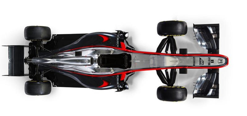 Illustration for article titled The 2015 McLaren Honda Is A Throwback To When F1 Cars Weren't Hideous