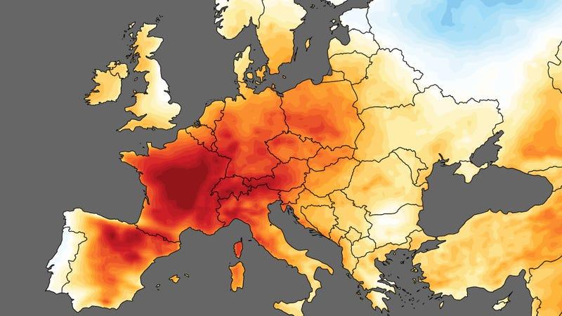 Illustration for article titled Acabamos de vivir el mes de junio más caluroso desde que se tienen registros