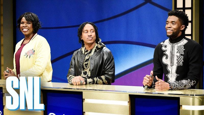 Chadwick Boseman bringing the King to SNL.