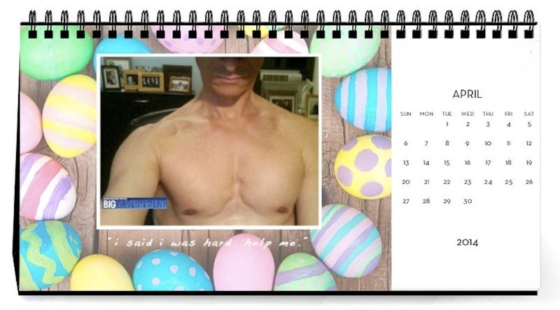 Illustration for article titled Don't Let All Those Dick Pics Go To Waste -- Make a Calendar!