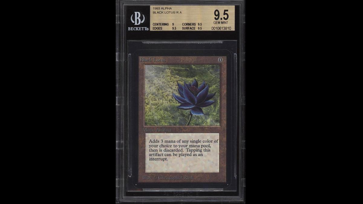 Rare alpha black lotus sells for 87000 izmirmasajfo