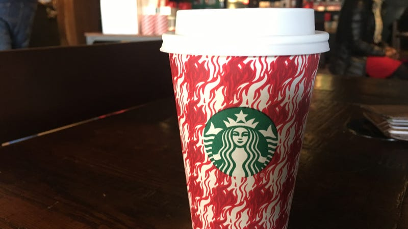 Illustration for article titled The New Starbucks Holiday Drink Is a Tree Branch in My Coffee