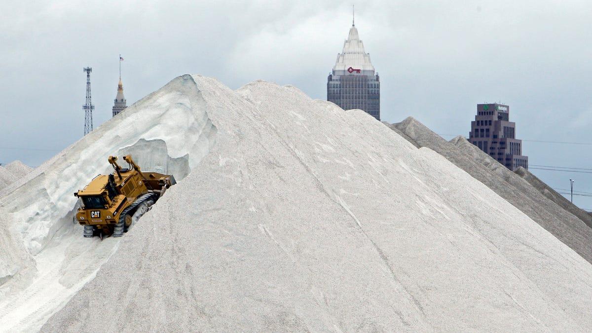 The Incredible Urban Salt Mines Hiding Underneath Our Feet - Us-salt-mines-map
