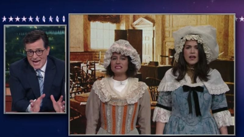 (Screenshot: The Late Show With Stephen Colbert/YouTube)