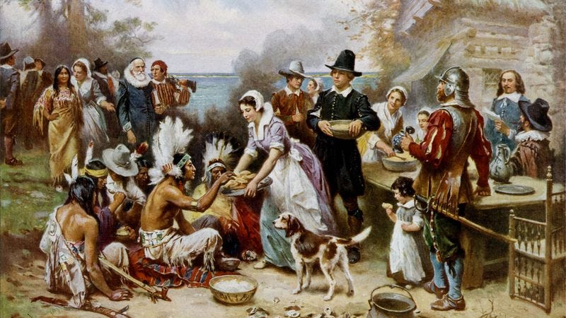 Illustration for article titled How Well Do You Know The Story Of Thanksgiving?