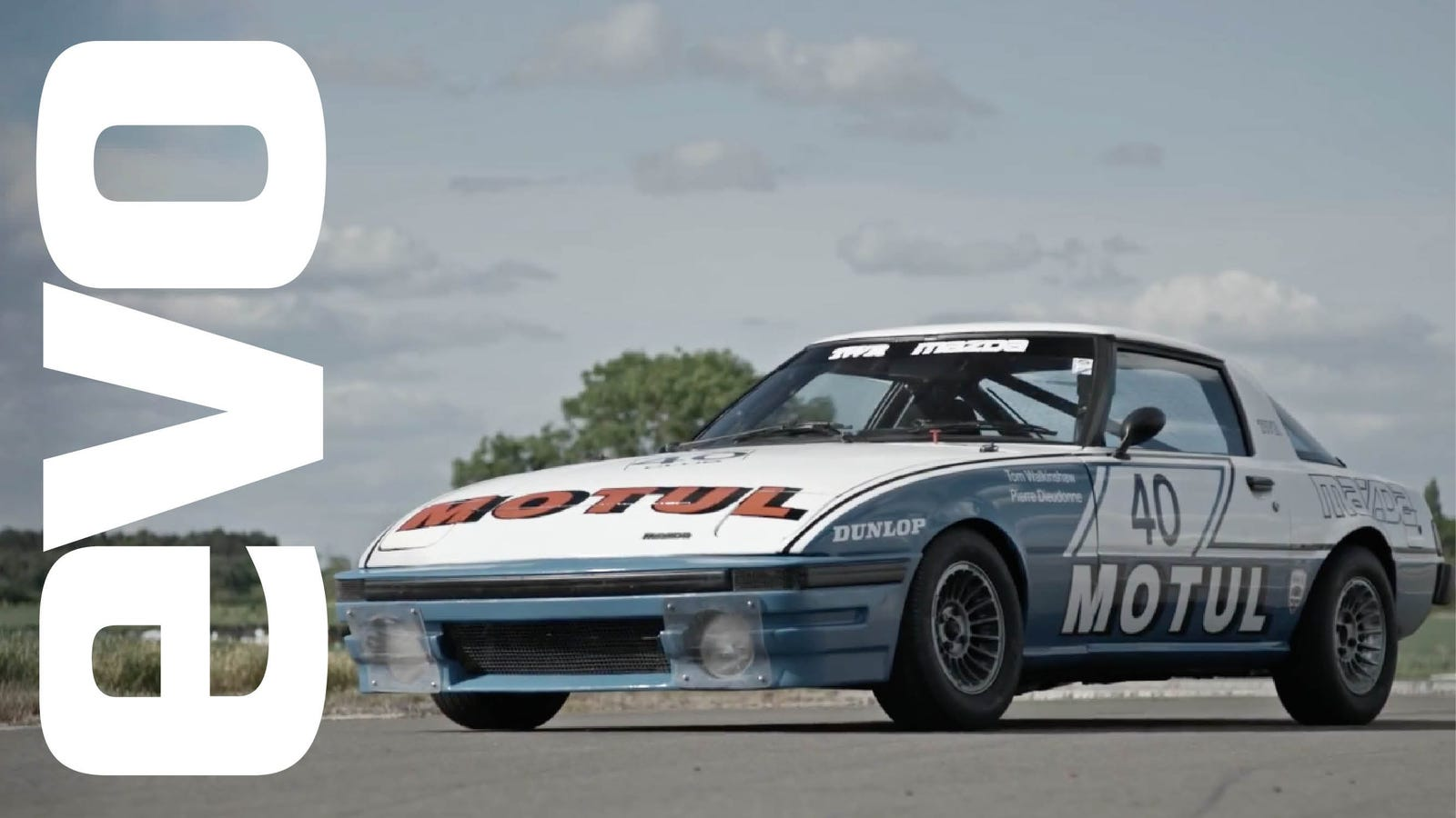 This Old Mazda Rx 7 Race Car Is A Buzzy Track Monster