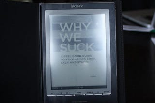 Illustration for article titled Sony, of All Companies, to Ditch Proprietary eBook Formats