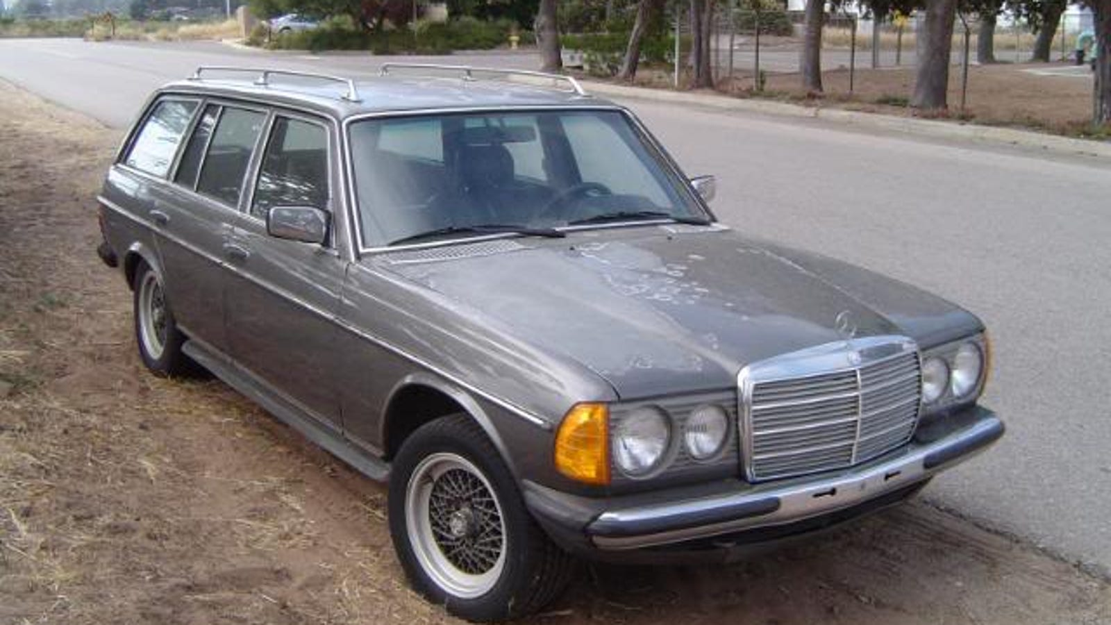 For $10,500, This W123 Has Been Around the Block