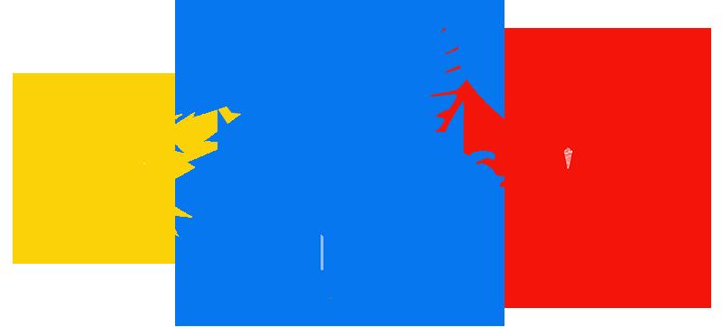 Awesome team logo cutouts via Jackaloupe.