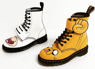 Illustration for article titled Adventure TimeBoots Give Your Feet Some Totally Mathematical Style