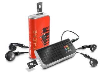 Illustration for article titled SanDisk Releases $20 slotMusic Player, Dozens of SD Card Albums