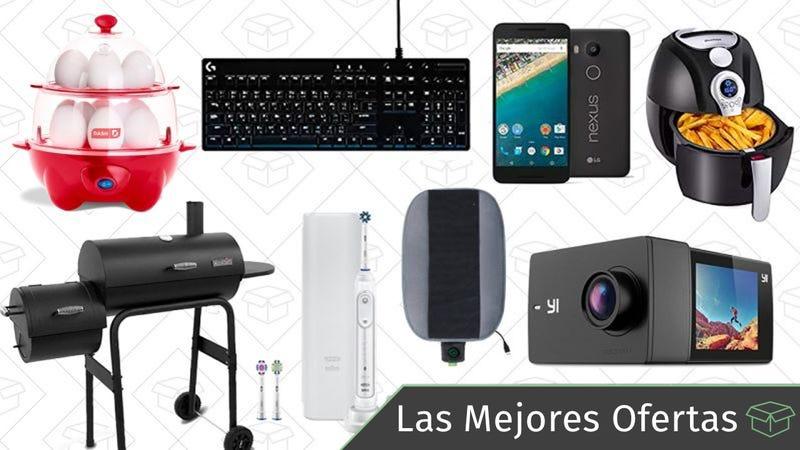 Illustration for article titled Las mejores ofertas de este viernes: Nintendo Switch por $224, PlayStation Plus, teclado de Logitech y más