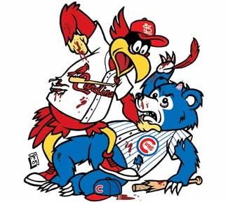 Illustration for article titled Cubs-Cardinals: First Place In May Is On The Line!