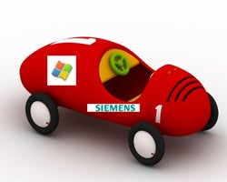 Illustration for article titled Microsoft And Siemens Bring In-Car Entertainment To Your Buggy