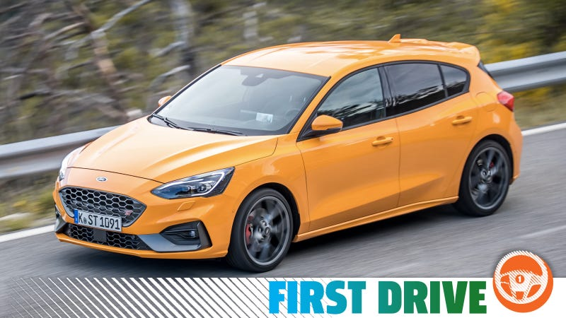 The 2019 Ford Focus St Is Fun But No Hardcore Monster