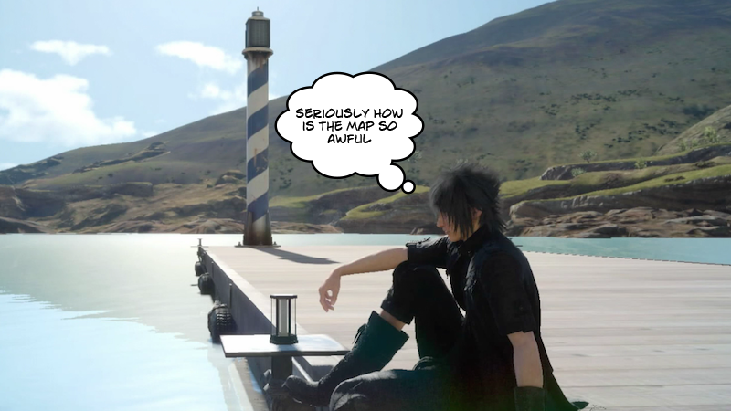 Illustration for article titled Final Fantasy XV's User Interface Is So Bad