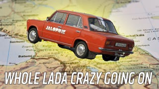 We Might Be Crazy Because We're Taking Our Lada On A 3,500 Mile Trip To Asia