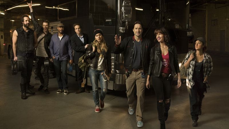 The cast of Roadies (Photo: Showtime)