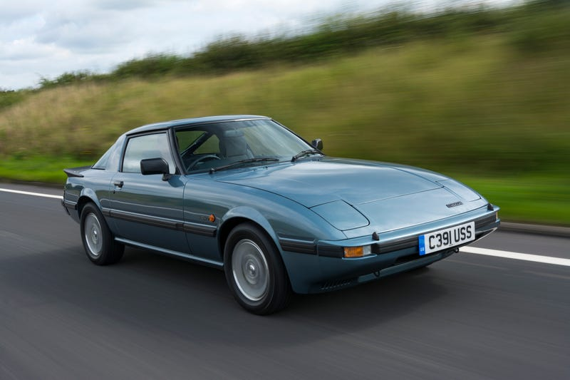 What It's Like To Drive The First Mazda RX-7 With Just 200