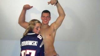 Illustration for article titled Rob Gronkowski's Brother Goes As Rob Gronkowski For Halloween