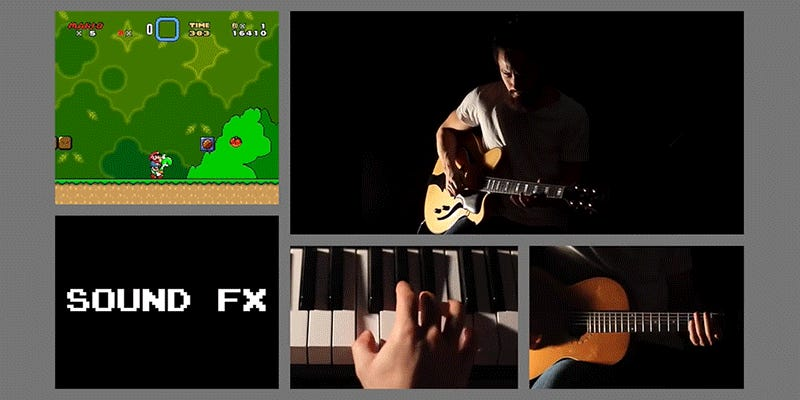 One Man Band Makes the Greatest 'Super Mario World' Cover Music