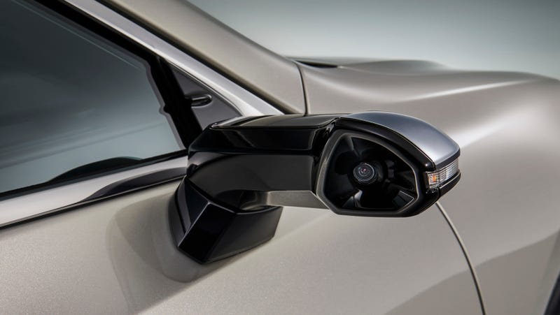 Illustration for article titled Lexus Beat Audi by Bringing Wing Mirror Cameras to Market First