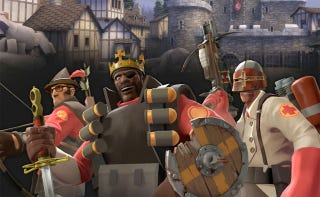 Illustration for article titled Team Fortress 2 Descends Into Medieval Madness For Holidays