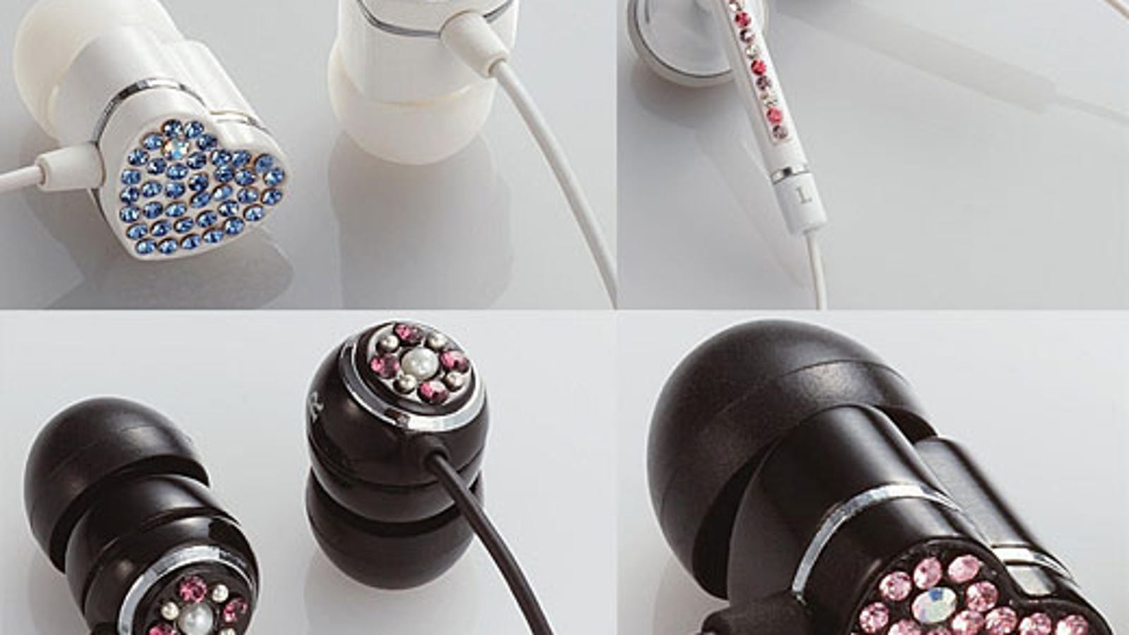 Elecom Ear Drops Earphones: Cheap Hookers Listen to Music, Too