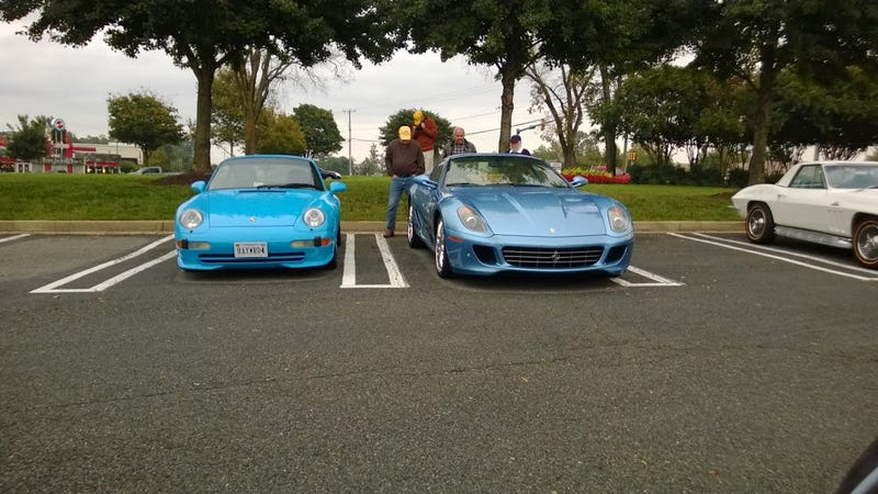 Some pics from Richmond Cars and Coffee this week and the