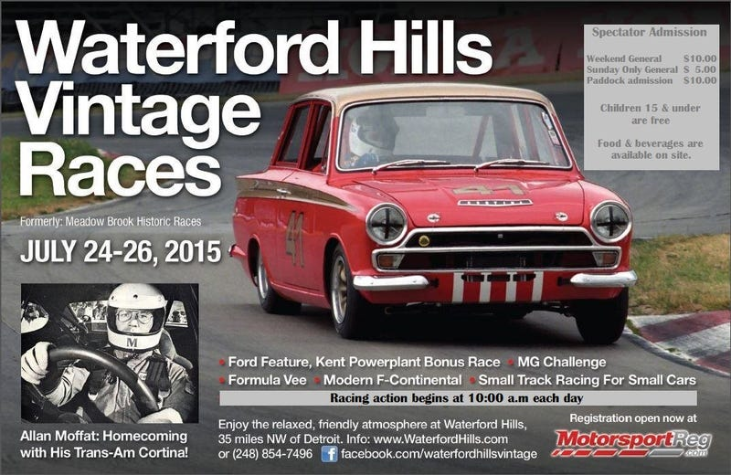 Illustration for article titled Waterford Hill Vintage Racing