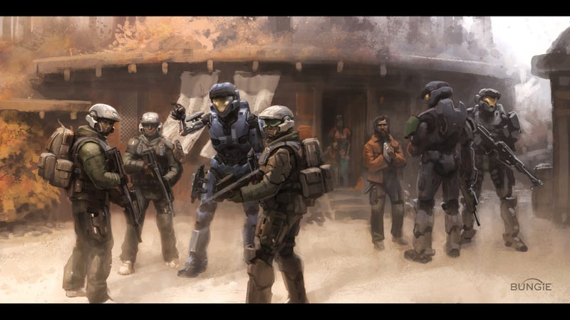 Illustration for article titled The Art Of Halo: Reach