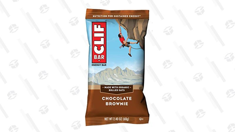 Clif Bar Chocolate Brownie, 12 Count | $6 | Amazon