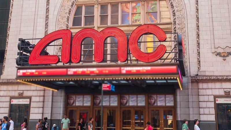 An AMC theater.