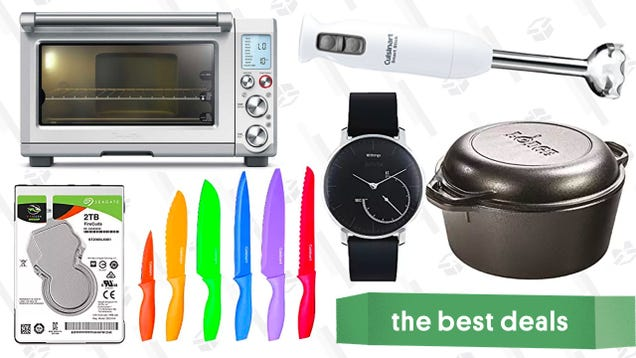 Thursday s Best Deals: Fitness Tracker, Lodge Dutch Oven, Breville Smart Oven Pro, and More