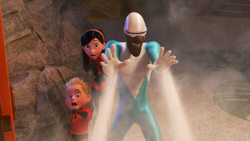 incredibles 2 deleted scene frozone s wife honey appears
