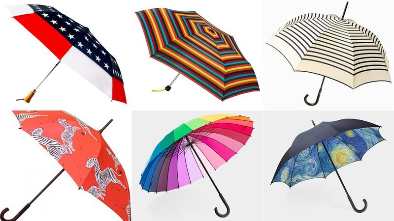Illustration for article titled 13 Umbrellas To Keep You Dry and Looking Fly
