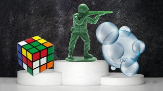 Illustration for article titled 2014 Toy Hall of Famers Include Rubik's Cube, Army Men, and Bubbles?