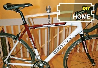 Build A Cheap Free Standing Bike Repair Stand With Pipes