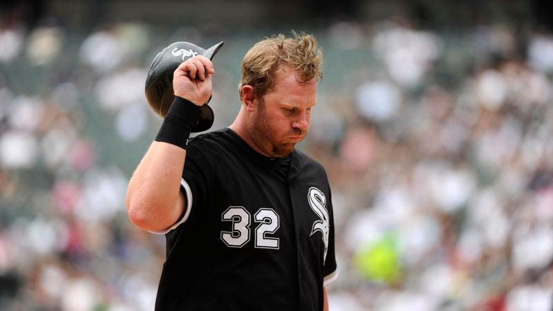 Illustration for article titled With .163 Average, Adam Dunn No Longer Considered A Baseball Player