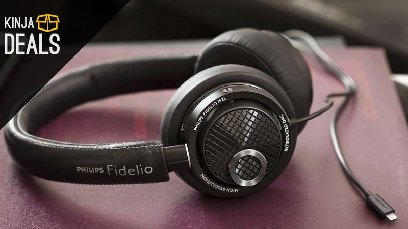 Illustration for article titled Ride the Lightning With These Discounted Philips Fidelio Headphones