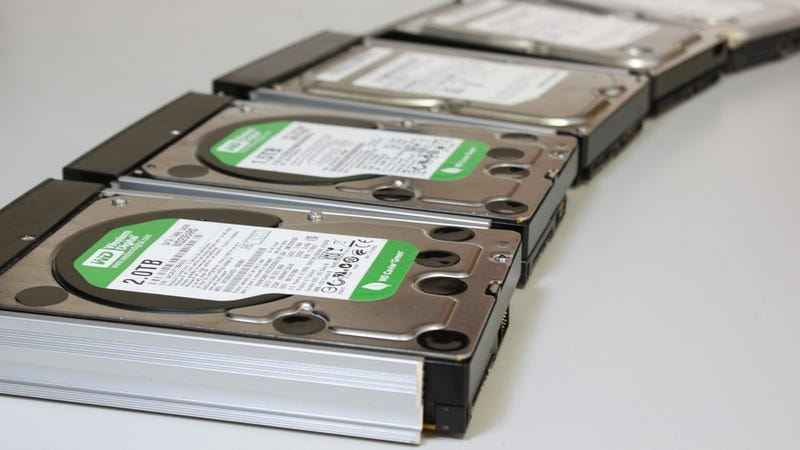 Illustration for article titled Western Digital's New Hard Drives Are Filled With Helium