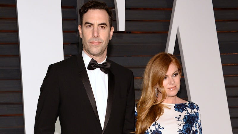 Illustration for article titled Sacha Baron Cohen and Isla Fisher Donate $1 Million to Help Syrian Refugees
